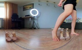 VR 360° High Heels Shoe Try on Haul