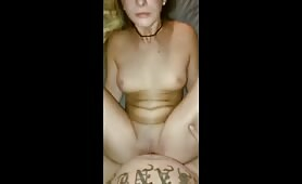 Super Hot Teen can\'t stop cumming while fucked hard